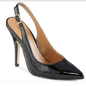 Cosmopolitan black  pointed toe heels, size 7